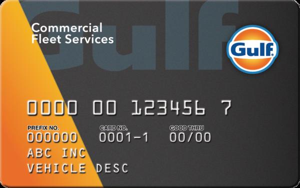 Gulf Commercial Fleet Card